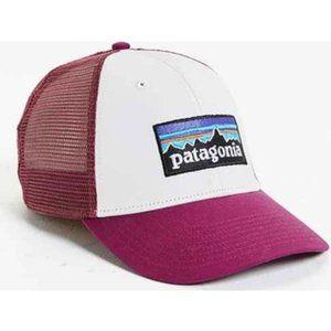 Patagonia Trucker Hat- Pink/White